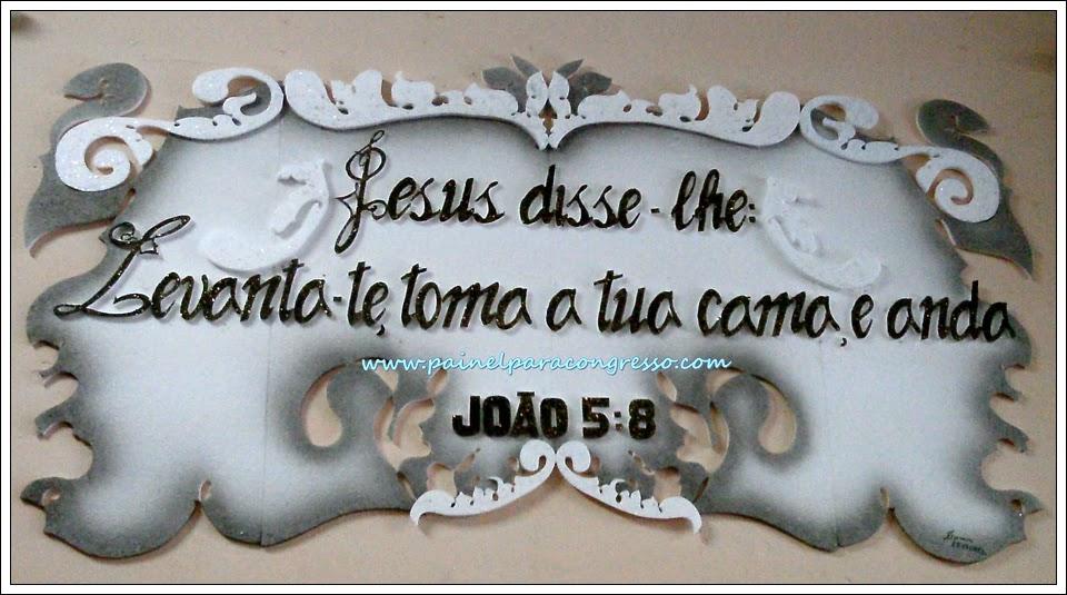 Festividade de igreja  /  João 5:8
