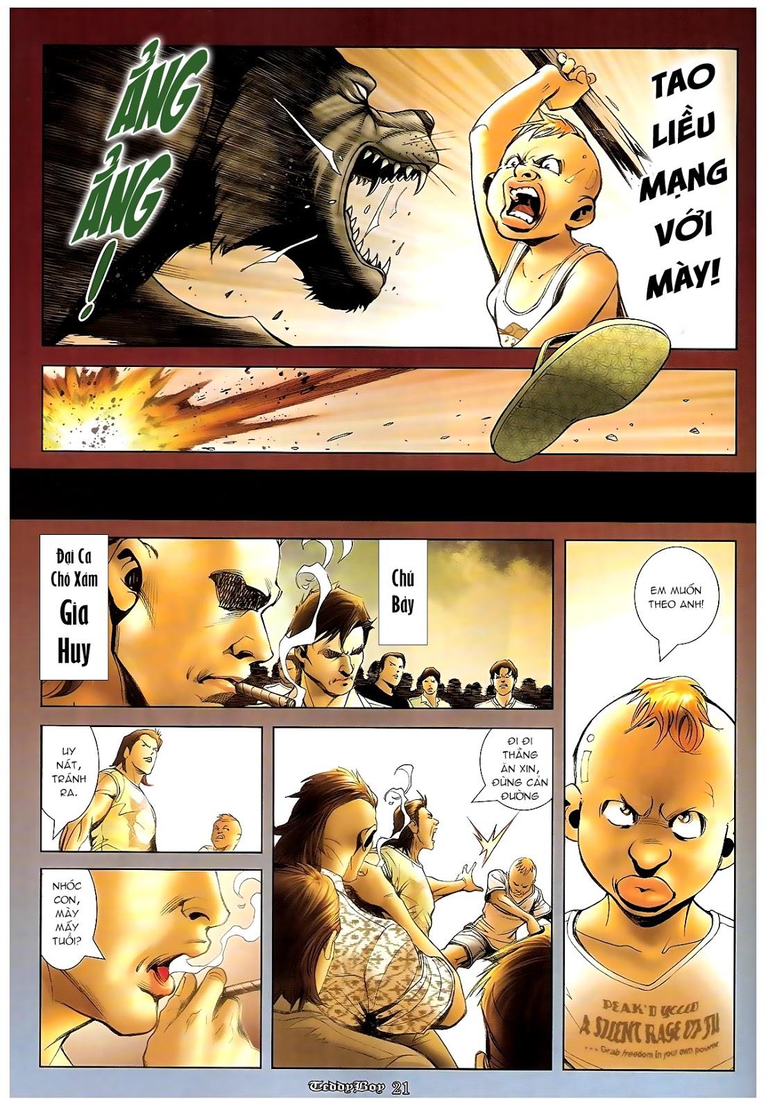 Người Trong Giang Hồ - Chapter 1235: Đồng qui ư tận - Pic 17