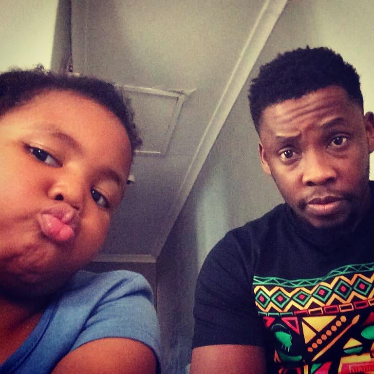 Uzalo's Wiseman Mncube on raising his beautiful baby girl