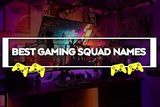 Nama Squad Keren Untuk Game (ML, FF dan PUBG)