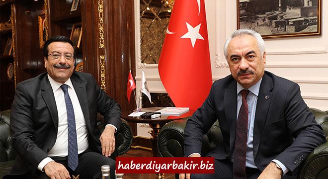 İçişleri Bakan Yardımcısı Mehmet Ersoy'dan Cumali Atilla'ya ziyaret
