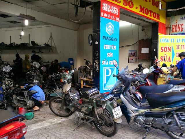 Sửa xe máy ở đâu Tphcm là uy tín nhất?