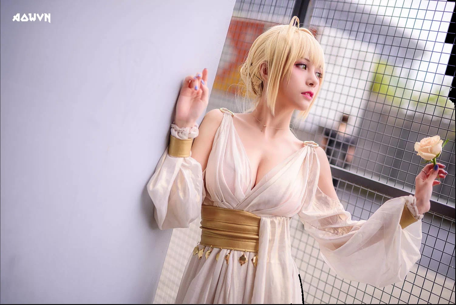 AowVN.org minz%2B%25285%2529 - [ Cosplay ] Nero - Saber anime Fate by Xia Mei Jiang tuyệt đẹp | AowVN Wallpapers