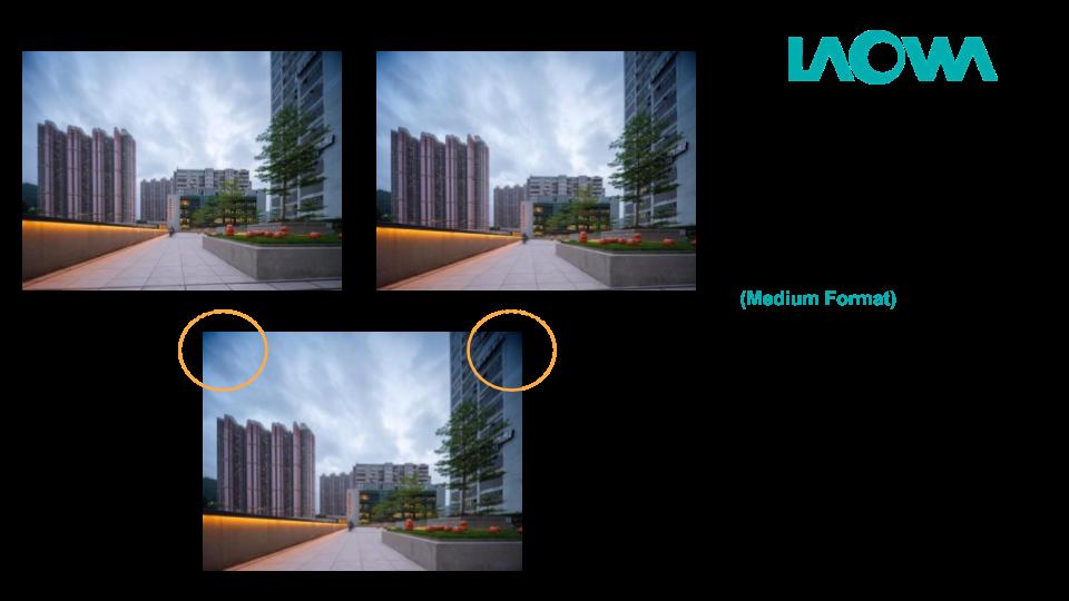 Виньетирование с объективом Laowa 15mm f/4.5 Zero-D Shift при использовании камеры Fujifilm GFX