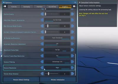 Best Settings, Run Smoothly, PSO2 New Genesis, PC, Increase FPS, Boost Performance