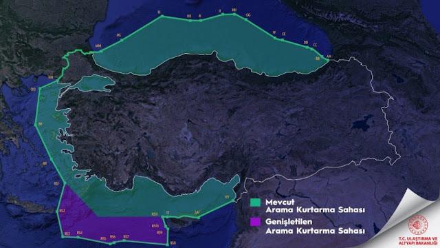 Χάρτες, ζώνες και νησιά