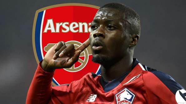 OFFICIAL: Arsenal Smash Transfer Record; Sign Pepe