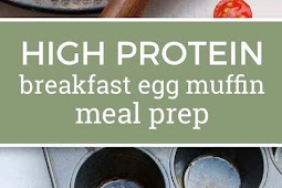 High Protein Breakfast Egg Muffin Meal Prep