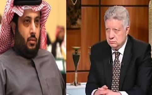 مرتضى منصور يُهدد تركي آل الشيخ في حالة الانسحاب من تمويل صفقة مدرب الزمالك الجديد