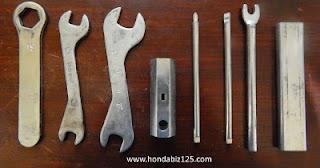 juego de herramientas honda biz 125