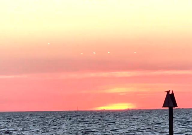 Segundo video del evento OVNI frente a la costa de Florida, 6 de diciembre de 2020