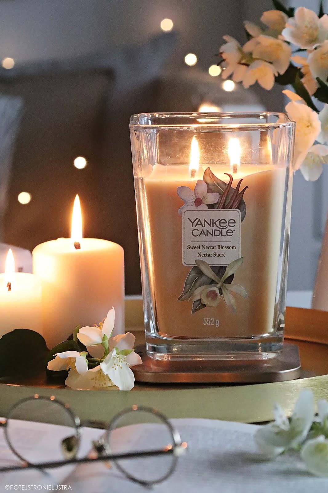 yankee candle sweet nectar blossom recenzja na blogu