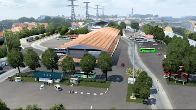 Map NJIR X JRR Convoy - ETS2 1.41