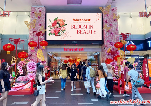 Bloom in Beauty, Fahrenheit88, CNY 2020, Malaysia Shopping Mall, Malaysia Shopping Mall Decor. Lifestyle