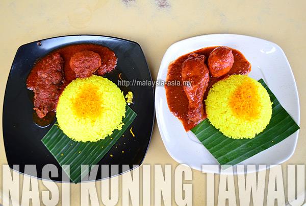 Tawau Nasi Kuning