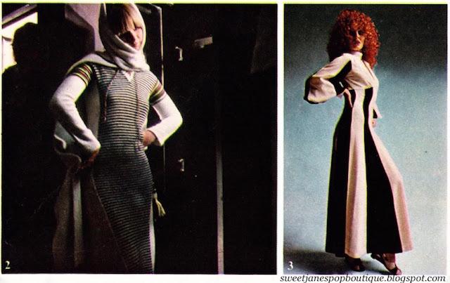 Ossie Clark Alice Pollock fashion 1970s