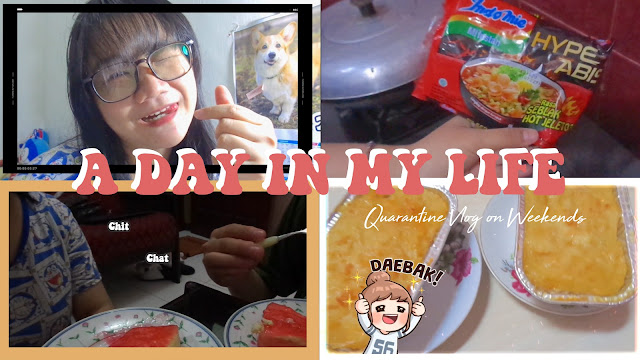 A day in my life video quarantine vlog Indonesia corona surabaya