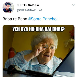 Baba re Baba Meme Thinking Cloud