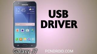 samsung j7 2016 usb driver