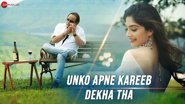 Unko Apne Kareeb Dekha Tha Song Lyrics - Hiroo Thadani
