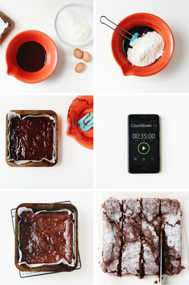 Recipe for The Best Ever Chocolate Fudge Brownies