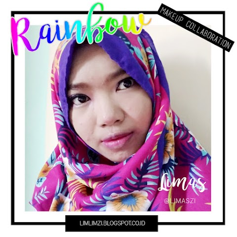 [MAKEUP] Rainbow Makeup Collaboration x SBB (Purple Asian Style)