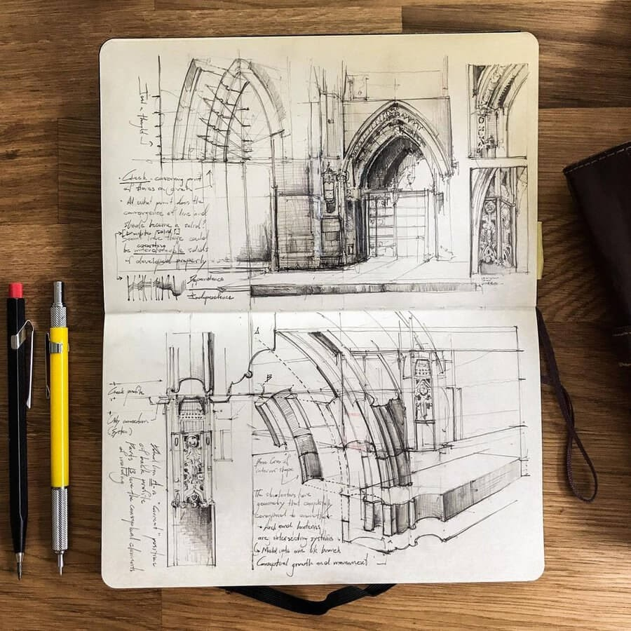 11-Architectural-detailing-Drawing-Jerome-Tryon-www-designstack-co