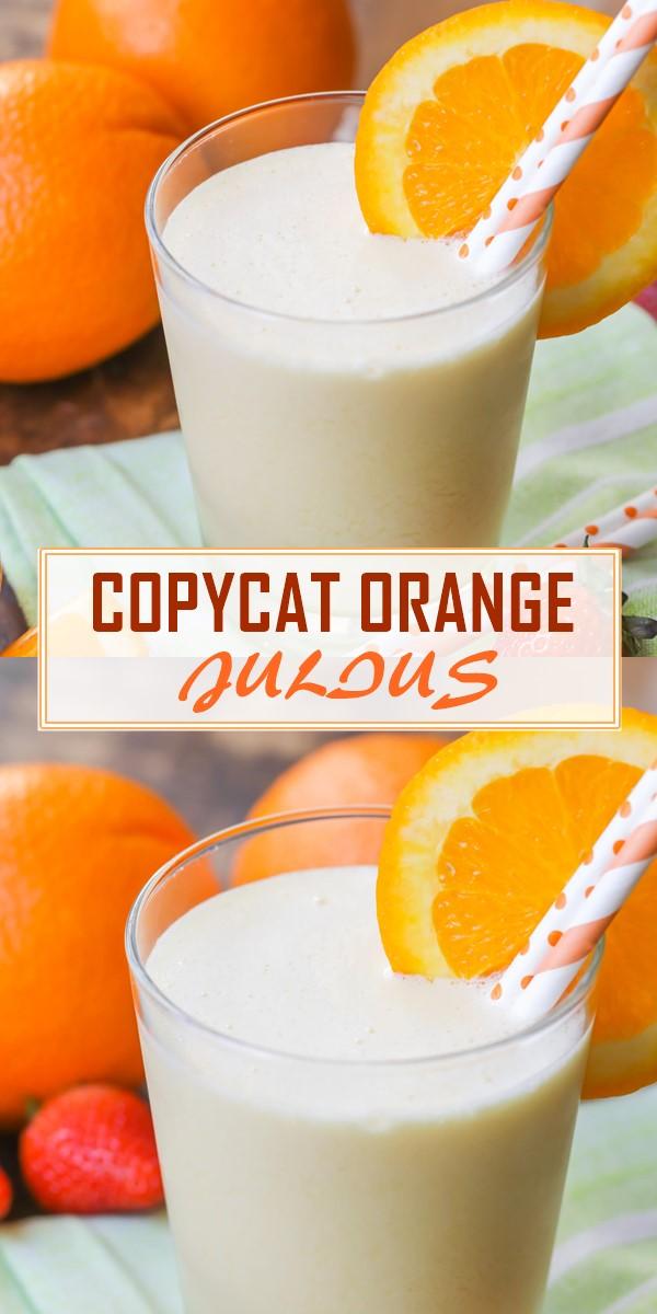 COPYCAT ORANGE JULIUS #smoothiesrecipes