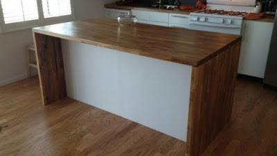 kitchen island back panel ideas