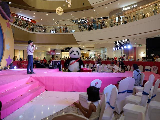 gigantic panda costume