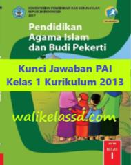Kunci Jawaban PAI Kelas 1 Buku Kurikulum 2013