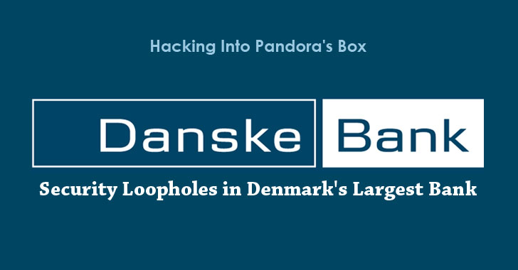 Researcher warns about Security Loopholes in Denmark's Largest Bank