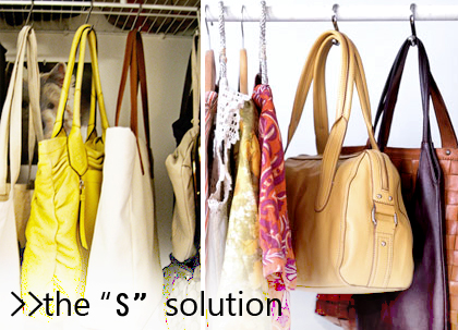 Down With Bags 6 Ways To Storing Amp Organizing Handbags