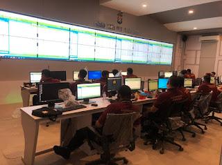 Command Center Polda Sulbar pasang 140 Kamera CCTV di 6 Kabupaten, Ini tujuannya...!!!