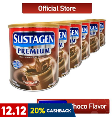 Sustagen Premium Chocolate Adult Nutritional Beverage