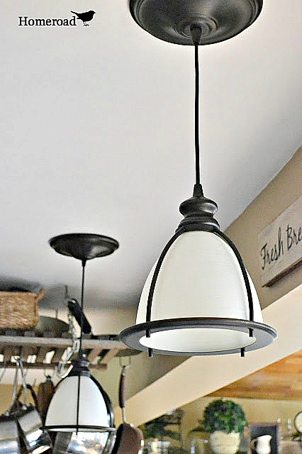 Instant DIY pendant lights from high hat sockets