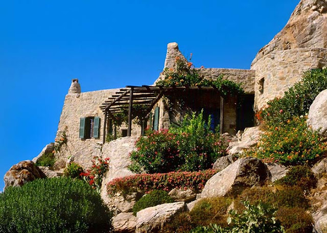 maison en pierre Méditerrannée