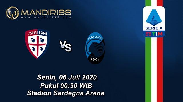 Prediksi Cagliari Vs Atalanta, Senin 06 Juli 2020 Pukul 00.30 WIB