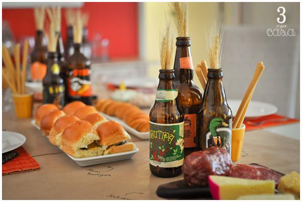 mesa de cervejas