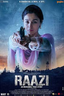 Raazi 2018 Download 720p BluRay