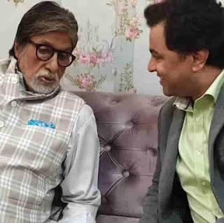 Subodh Bhave With Amitabh Bachchan
