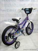 4 Sepeda Anak United NYX Rangka Aloi 16 Inci