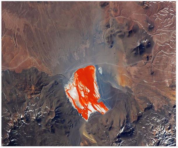 Laguna Colorada: laguna boliviana