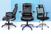 Logo Songmics Italia ''Mega Giveaway'': vinci gratis 5 sedie da ufficio