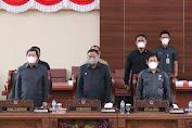DPRD Sulut Gelar Paripurba Tutup Masa Sidang Satu Tahun 2021