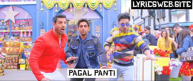 Paglpanti Titel track Lyrics in hindi