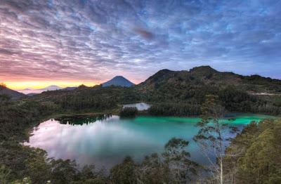3 Beautiful Lakes At Dieng Plateu Wonosobo