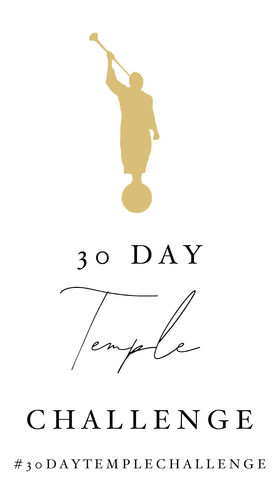 30 Day Temple Challenge