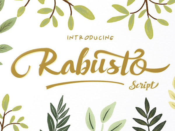 Rabusto Script Font Free Download