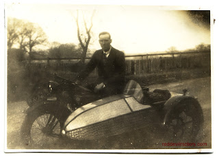Rudge four valve four speed sidecar outfit
